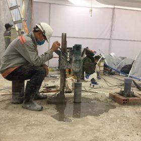 Khoan cắt bê tông tại Bình Phước thi công Giá Rẻ nhất thị trường