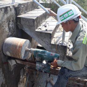 Khoan cắt bê tông Hải Dương thi công Giá Rẻ nhất thị trường